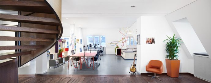 design project microsoft ventures coworking starts-up Berlin