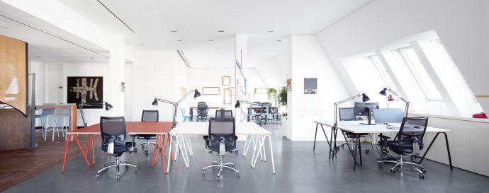 Studio KERTI Design für Großraumbüros