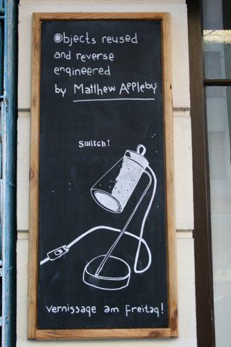 Shop sign Berlin