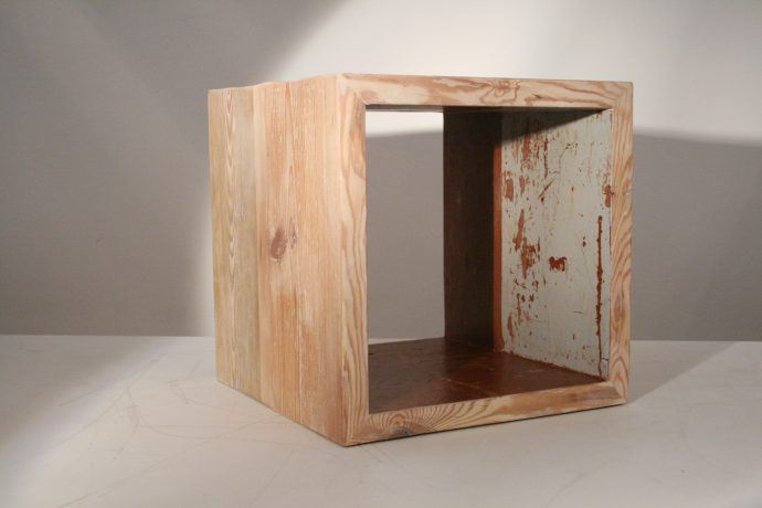 Sustainable Design Craftsmanship Berlin floorboards shelves Studio KERTI furniture design and realisation