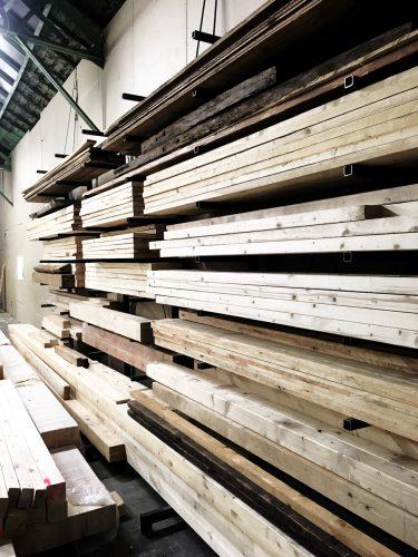 Sustainable craftsmanship wooden materials