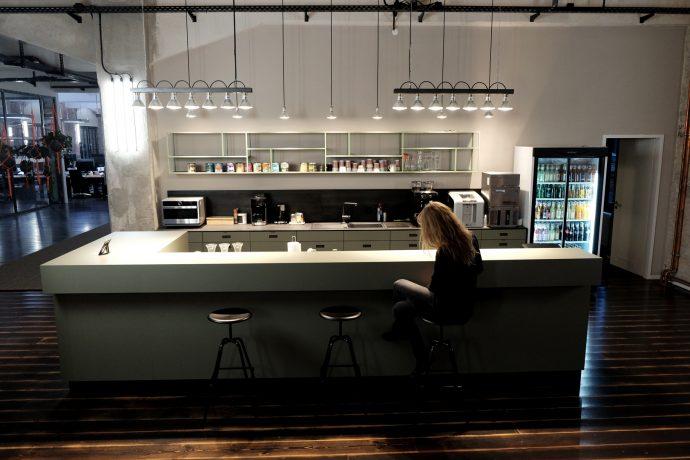 Küche Großraumbüro