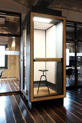 Indoor Office Telefonzelle