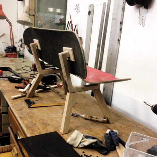 Unika Kindermöbel Design Sonderanfertigungen discarded materials sustainable craftsmanship Berlin