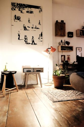 eclectic home styling Berlin