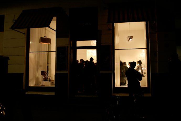 Luminous objects exhibition at Studio KERTI