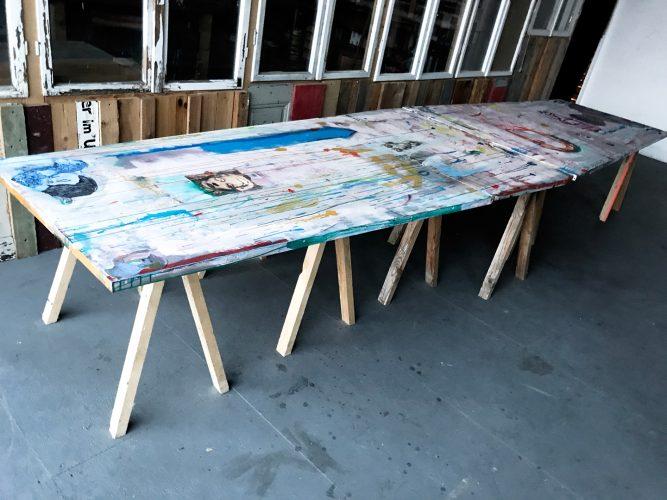 Art production for a Berlin artist