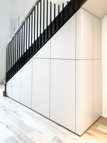 Einbauschrank Staircase